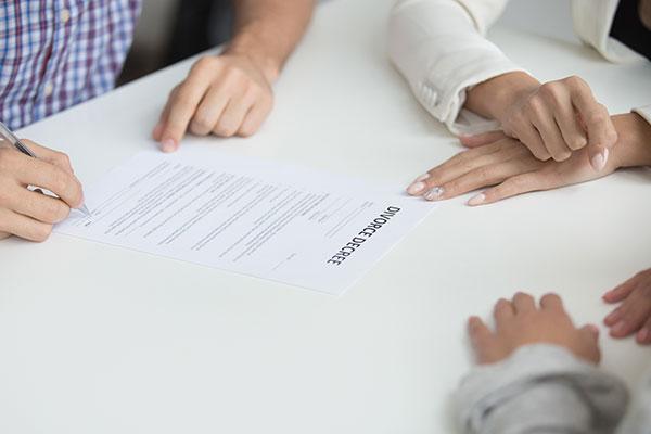 separacion mutuo acuerdo abogados